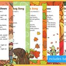 Autumn Songs for Early Years - EYFS Pack