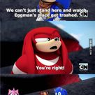 Knuckles: An echidna of action. - Gaming