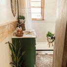 Update a Small Bathroom - Boho Style