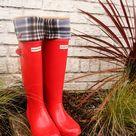 Red Hunter Rain Boots