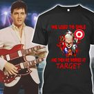 Official Pennywise Jason Michael Freddy We Used To Smile And Then We Worked At Target Shirt hoodie, sweatshirt, longsleeve tee