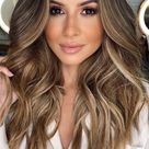 22 + Best & hot hair color trends 2020 : Wavy dark chocolate