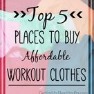 Affordable Workout Clothes