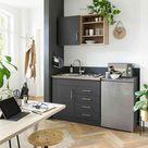 HELD MÖBEL Küchenzeile »Mali«, mit E Geräten, Breite 100 cm online kaufen   OTTO