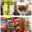 Damen T-Shirt London