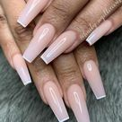 40 Beautiful Pink Coffin Nails Designed for You in This Spring   Lily Fashion Style