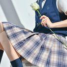 Morning Mist Jk Uniform Skirts