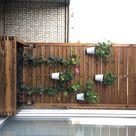 Balkon Sichtschutz Blumenkübel DIY Anleitung   idatschka.de