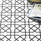 15x15 Bodenfliesen mit geometrischem Muster Addon 🛒 🛒 🛒
