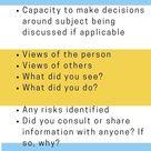 Social Work Case Note Cheat Sheet