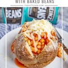 Jacket Potatoes with Beans | How to Make Jacket Potatoes with Beans