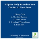 Upper Body Exercises