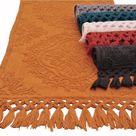 100% Cotton Hand Woven 2pc Bath Rug Set 21