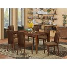 Galestown 7 Piece Solid Wood Dining Set