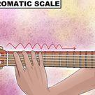 Tonleitern auf der Gitarre lernen (mit Bildern)