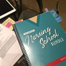 The Complete Nursing School Bundle™   200 pages   PRINTED &   Etsy