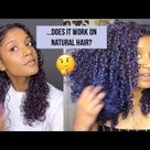 I Tried Temporary Hair Color Wax On My Curls And.... | Mofajang review + Demo