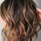 28 Incredible Examples of Caramel Balayage on Short Dark Brown Hair,  #Balayage #Brown #caram...