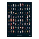 Vitra -RF Robot Collection Poster