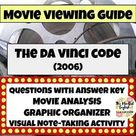 The Da Vinci Code (2006)   Movie Guide   Digital and Print Worksheets   Mystery