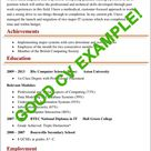 CV Examples | Example of a good CV (+ biggest mistakes to avoid!)