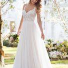 Wedding Dresses | Soft and Romantic Boho Wedding Dress | Stella York