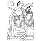 Leuk voor kids | Sinterklaas en Piet op het dak