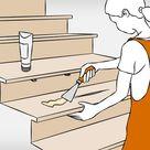 Holztreppe renovieren – Anleitung in 6 Schritten | OBI