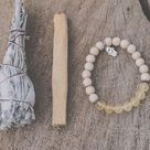 Manipūra Chakra Bracelet-Hand Made-(3rd Chakra)