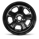 Road Ready 18 inch Steel Wheel Rim for 13-19 Ford Taurus 18x8 inch Black 5 Lug Size: 18 inch