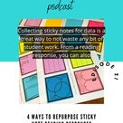4 Ways To Repurpose Sticky Note Reading Response