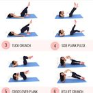 Leg and Ab Workout to Tone Legs and Core in 20 minutes