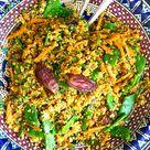 Marokkanischer Couscous mit Dattel-Balsam - Madame Cuisine