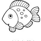 Ausmalbild Fisch 9 zum Ausdrucken
