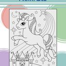 Kids Coloring Pages | Printable downloads, Unicorns