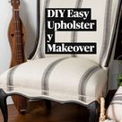 Upholstery Makeover - Learn How to Upholster