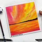 Beautiful Twilight Watercolour Painting - HNDMD Blog