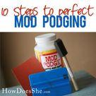 Mod Podge Uses
