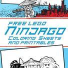 The LEGO Ninjago Movie free printables