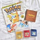 ON HOLD Pokémon Red Blue Yellow And Book on Mercari
