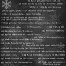 Christmas Bucket Lists