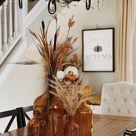 Mit Herbstdeko Tisch und Essplatz gemütlich dekorieren