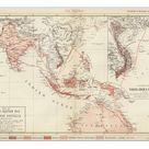 A1 Poster. Map of South-Eastern Asia and Northern Australia