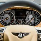 2015 Bentley Flying Spur V8 (Euro-spec) interior - instrument-cluster