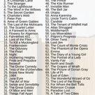 The 100 Novel Challenge - Jamimico