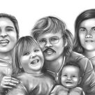 Photo To Sketch Pencil Sketch From Photo Portrait Drawing   Etsy