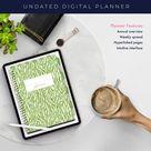 Digital Planner   Goodnote planner   Ipad Planner   Digital journal   Digital Stickers   Digital Planner Stickers   Wild Green Zebra