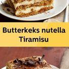 Butterkeks nutella Tiramisu - schonheitundnatur.com
