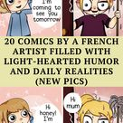 20 Comics By A French Artist Filled With Light Hearted Humor And Daily Realities New Pics