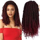 ELIGHTY Bomb Twist Crochet Hair   Spring Twist Crochet Braids,Pre looped,Kinky Curly,Pretwisted,Short Passion Twists Braiding Hair Extensions For Black Women 12 Inch Bomb Spring Pack of 6, TBG